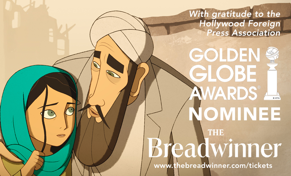 The Breadwinner Golden Globe Nomination