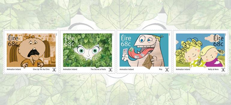 Irish Animation Stamps