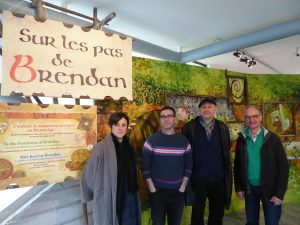 5. With the 2 museum directors Florian Rubis