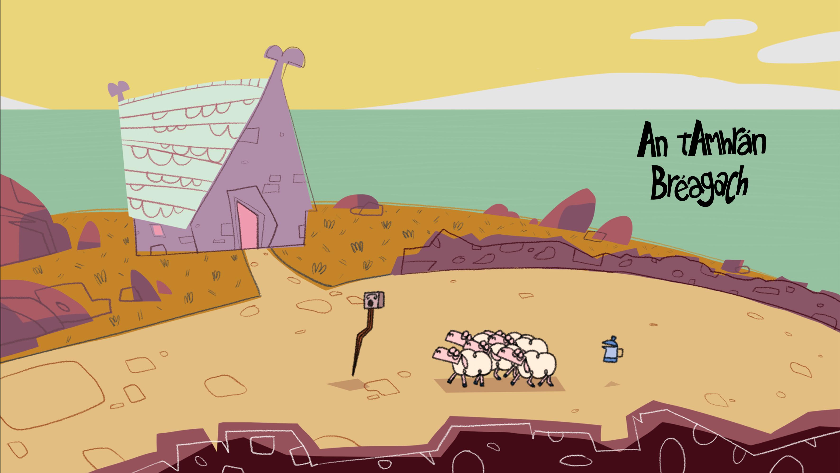 Cul an Ti animated television series An tAmhran Breagach